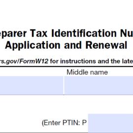 PTIN Renewal Period Underway